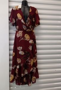 Brand New A New Day Floral Dress Size Xsmall
